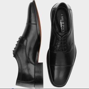 Johnston & Murphy Novick Black Lace up Shoes - 11W